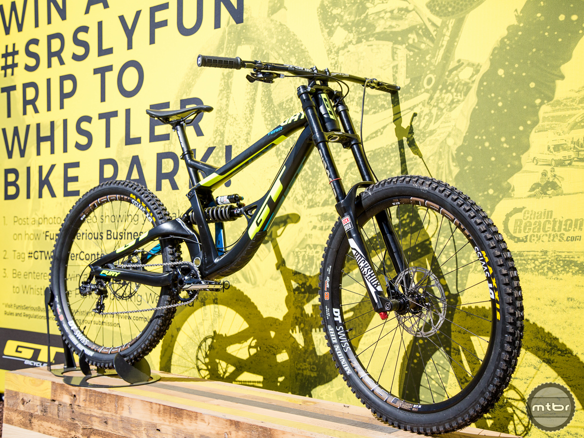 GT Fury DH Bike