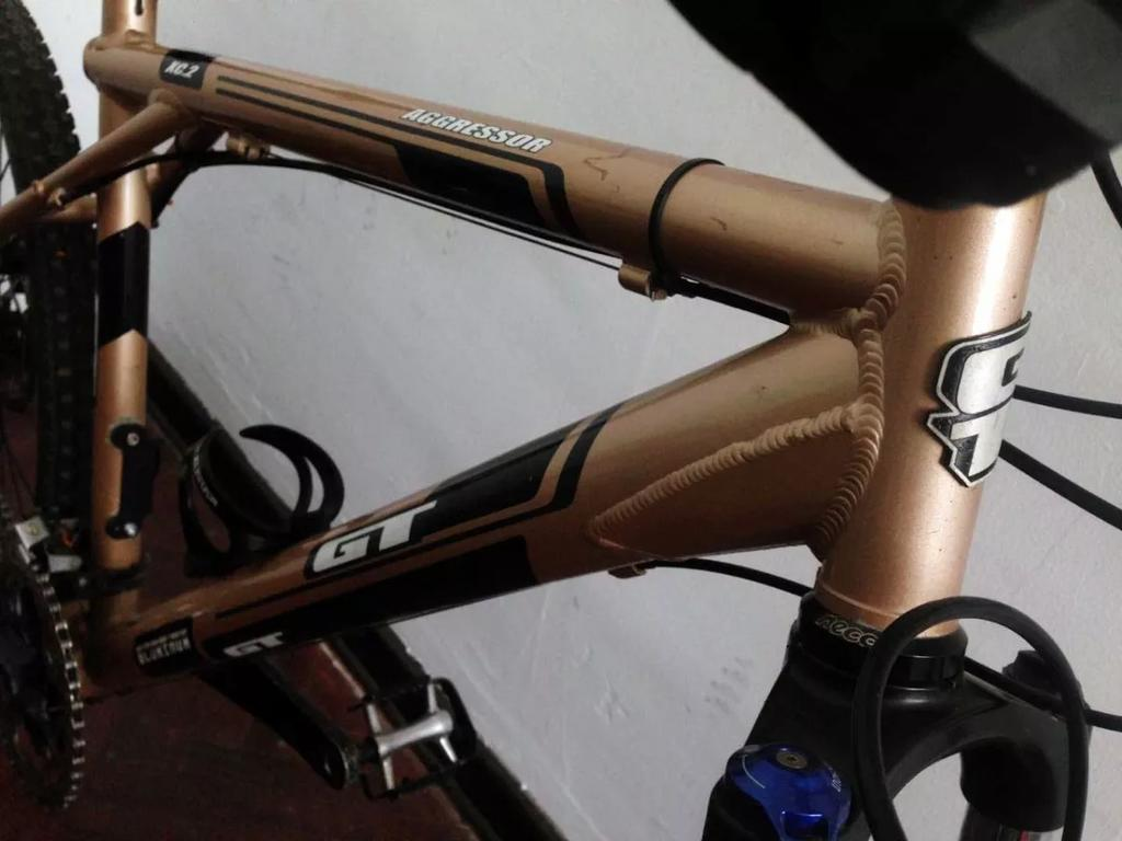 frame issues with a second hand bicycle that I could buy