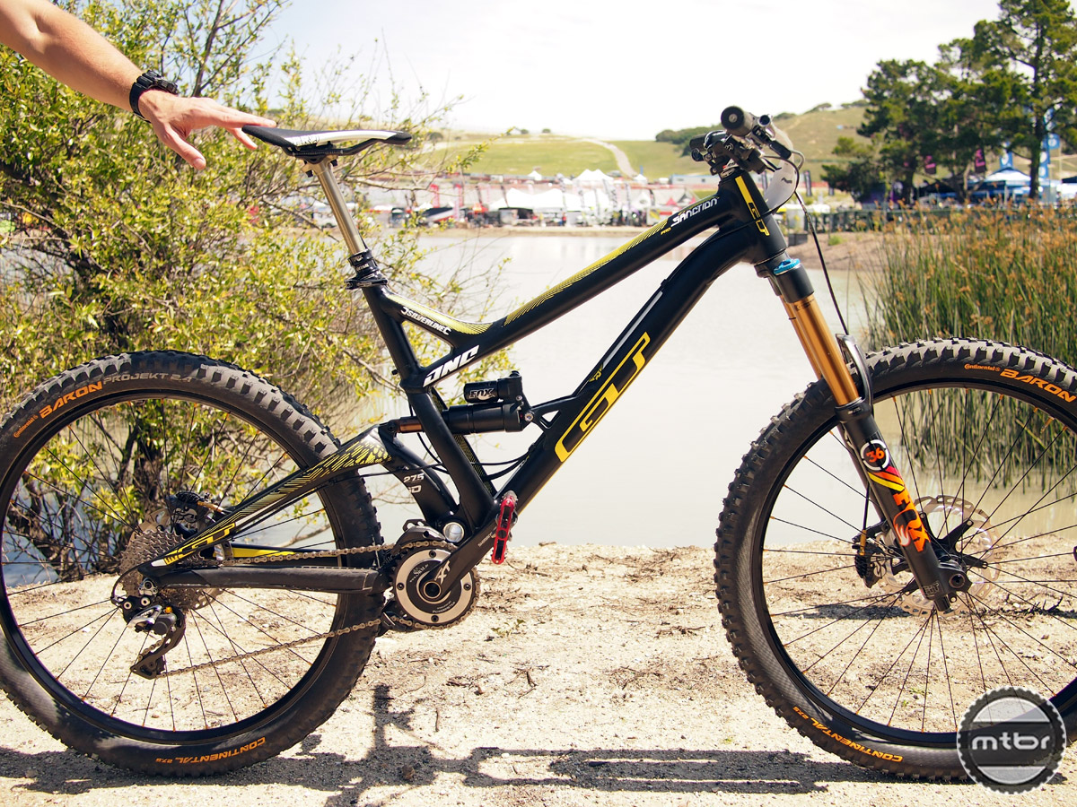 GT Sanction - complete bike shot