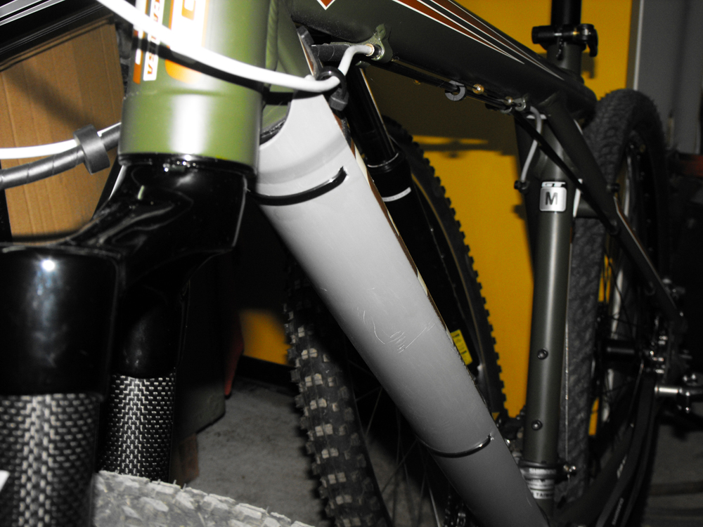 An Aesthetic Downtube And Fork Protection Mtbr Com