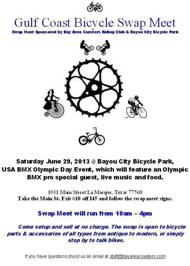 Texas Gulf Coast Bicycle Swap Meet @ Bayou City Bicycle Park (South of Houston)-gulf_coast_bicycle_swap_0629_flyer.jpg