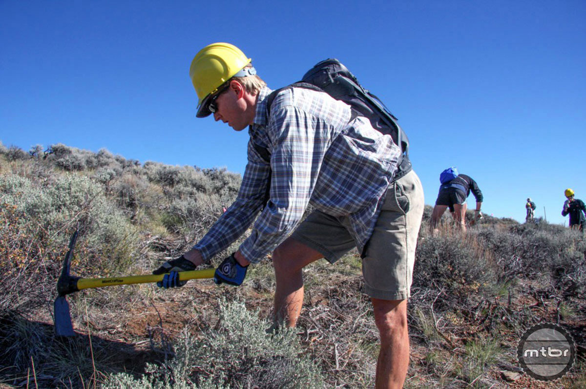 Gunnison Trails executive director Dave Wiens has helped make the Hartman Rocks trail network an amazing place to ride.