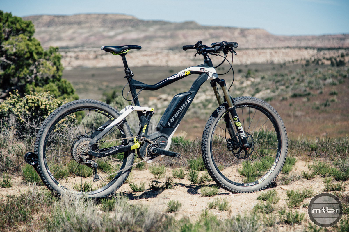 The Xduro All Mountain is Haibike's entry into the electric all mountain/trail bike catagory.