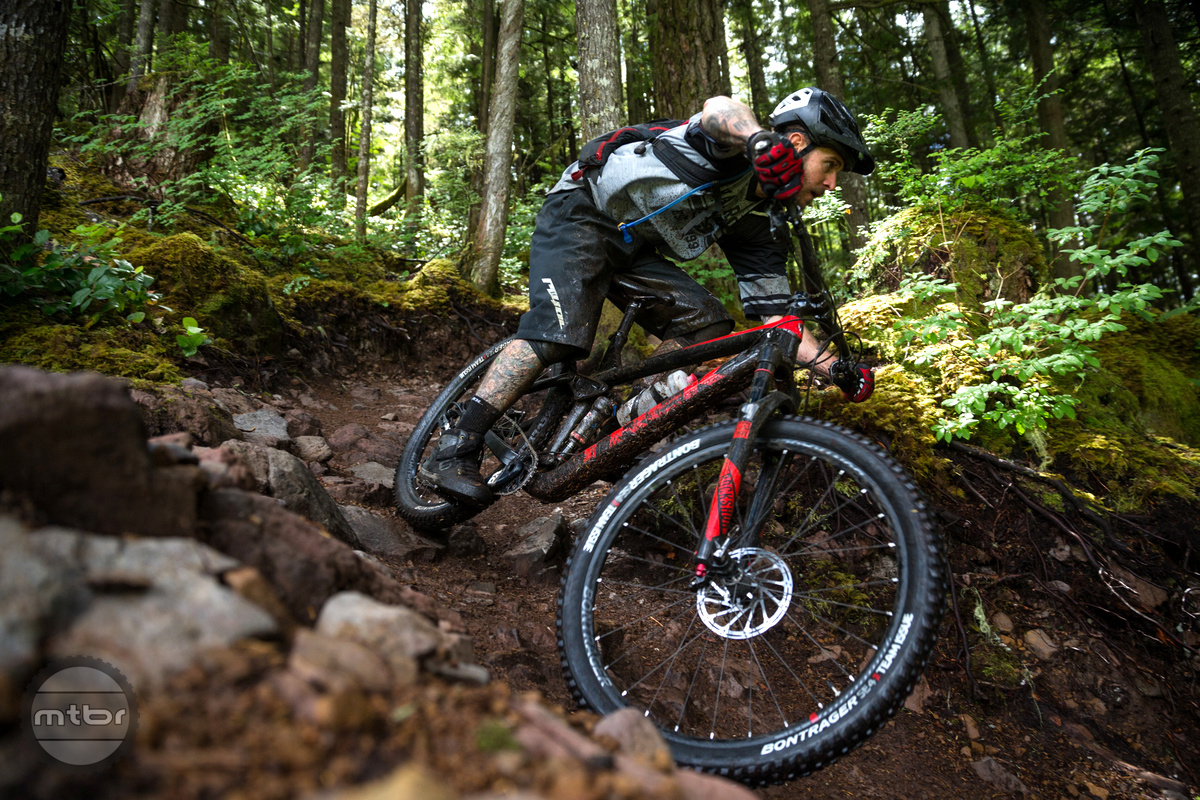 Ryan Howard carves the Squamish trails with ease on board the new Remedy.