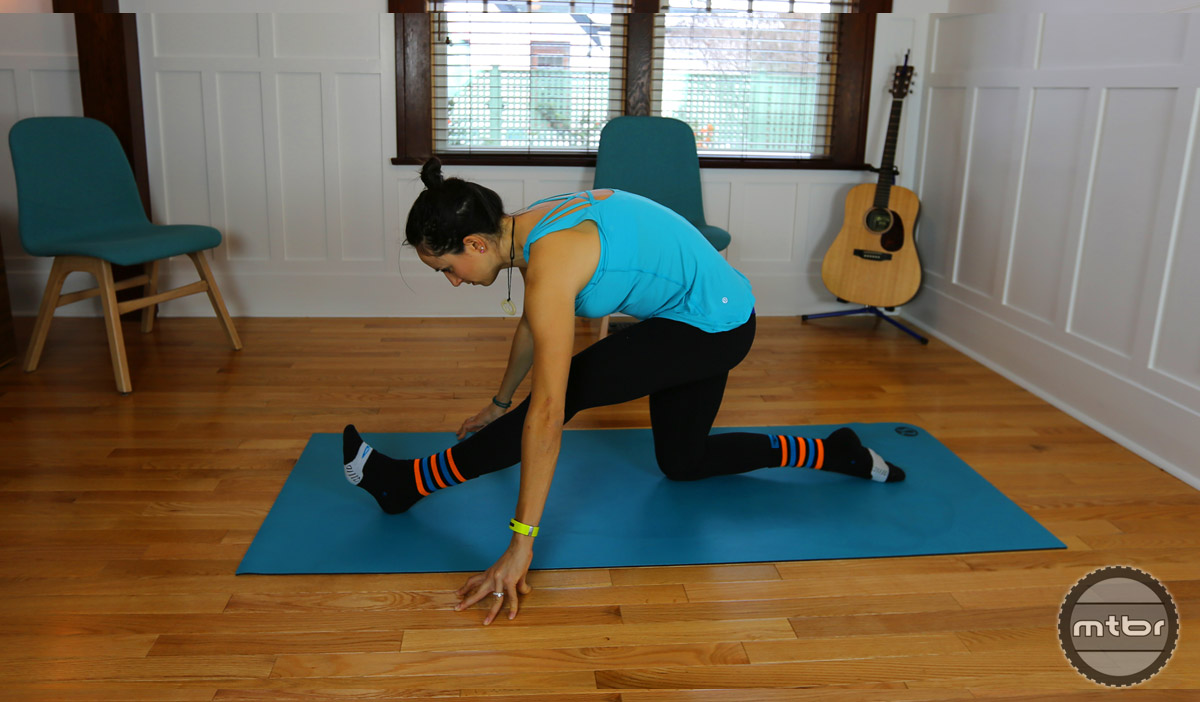 Hamstring Stretch/Half Pyramid Pose