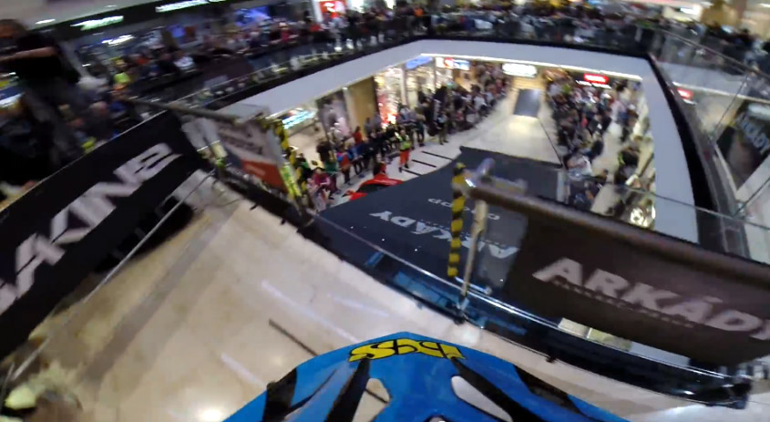 DH Race in Mall - Hannes Slavik