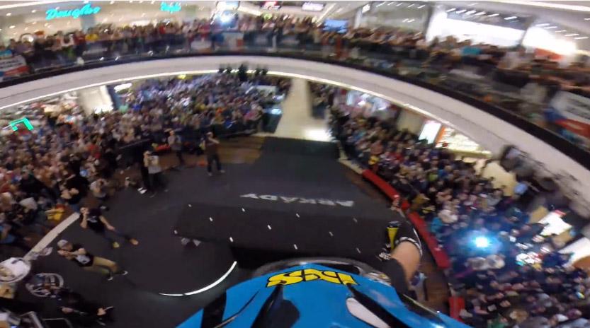DH Race in Mall - Hannes Slavik