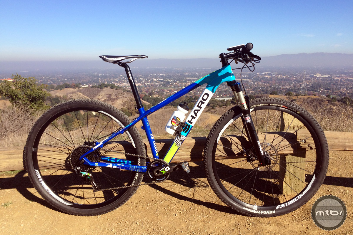 A carbon hardtail 29er that can pull XC race duty as well as All Mountain trail bike fun at a great price.