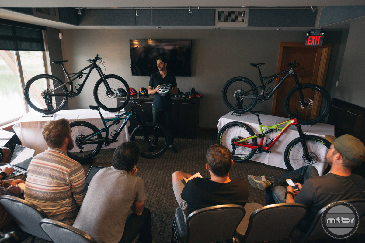Bikes were launched to media in the Sunshine Coast of British Columbia.