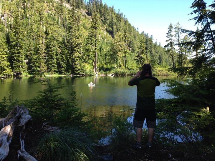 Hansen Ridge -RR 7/13/14 with video-harris-lake-1.jpg