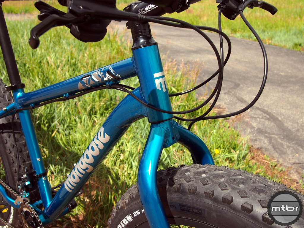 Mongoose Argus - head tube
