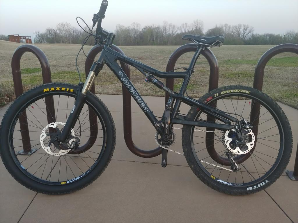 Do any of you run 1x11 or 1x12 on your 26er?-heckler-brakes.jpg