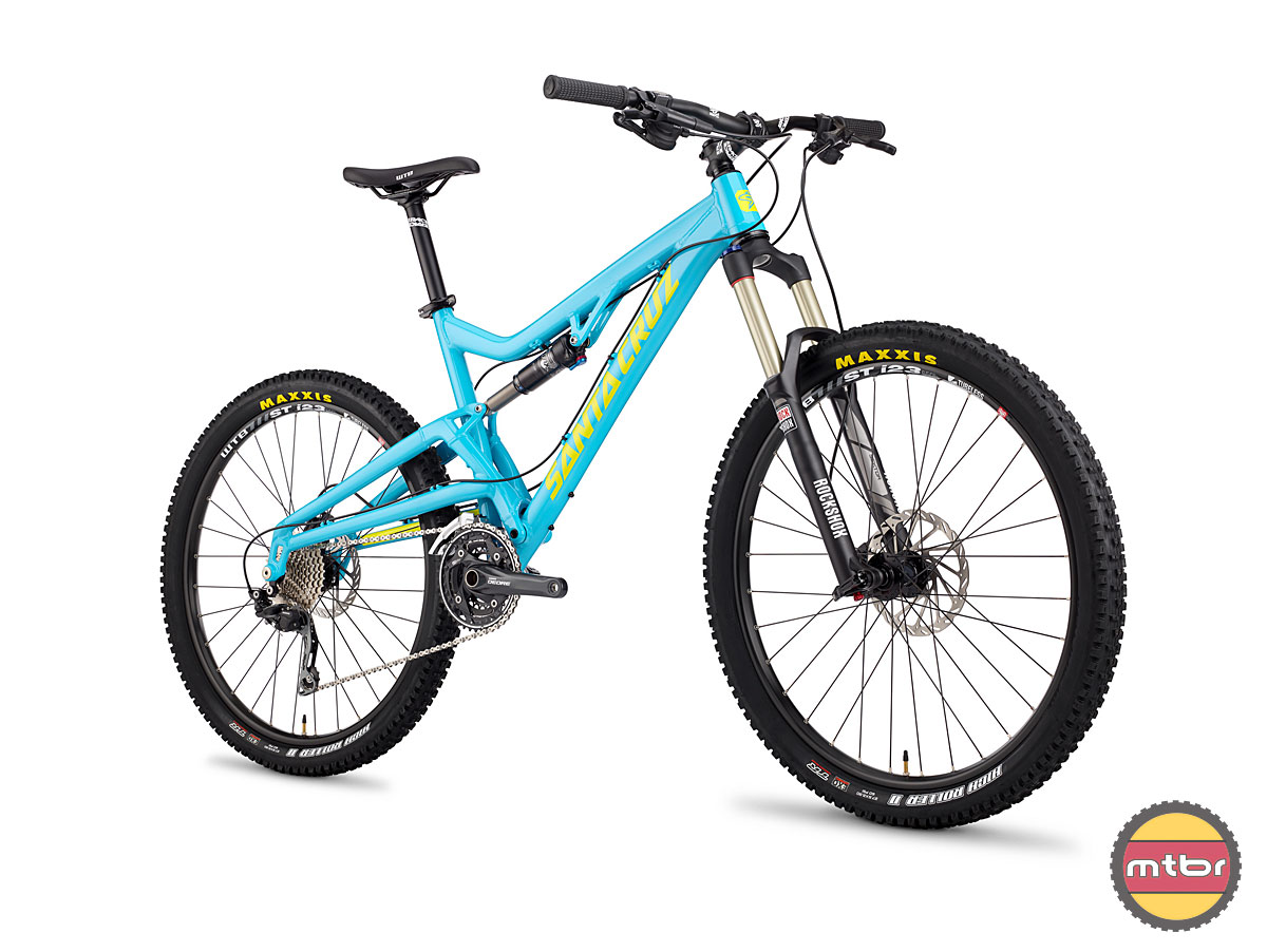 Santa Cruz Heckler Blue