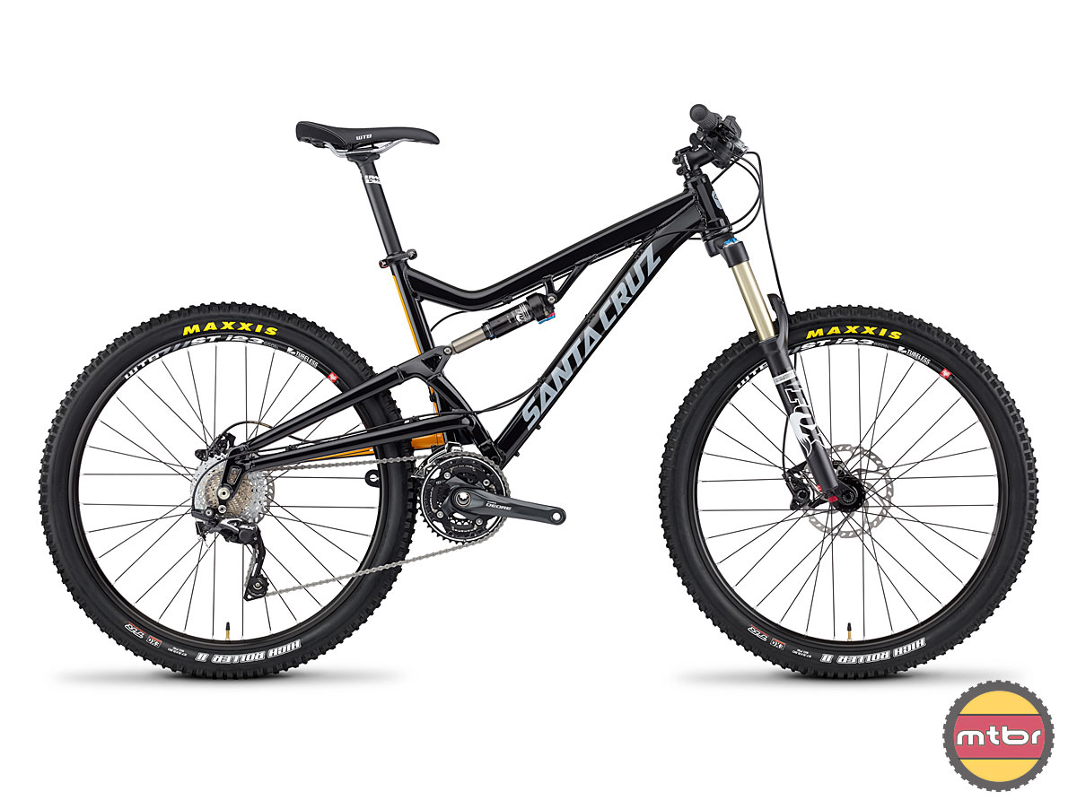 Santa Cruz Heckler Black Profile