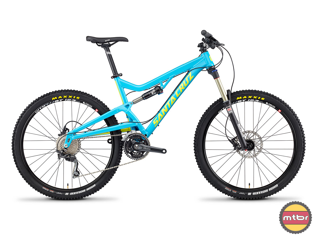 Santa Cruz Heckler Blue Profile