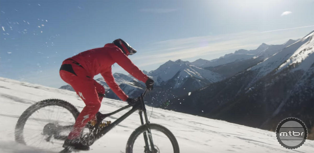 Matt Hunter Heli-Biking BC