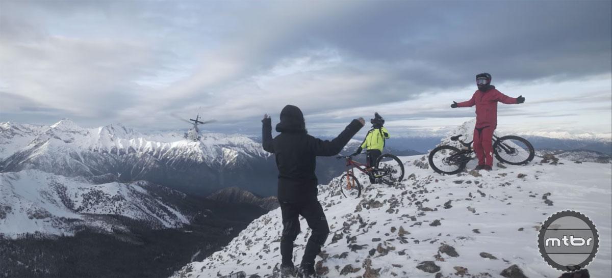 Matt Hunter Heli-Biking BC