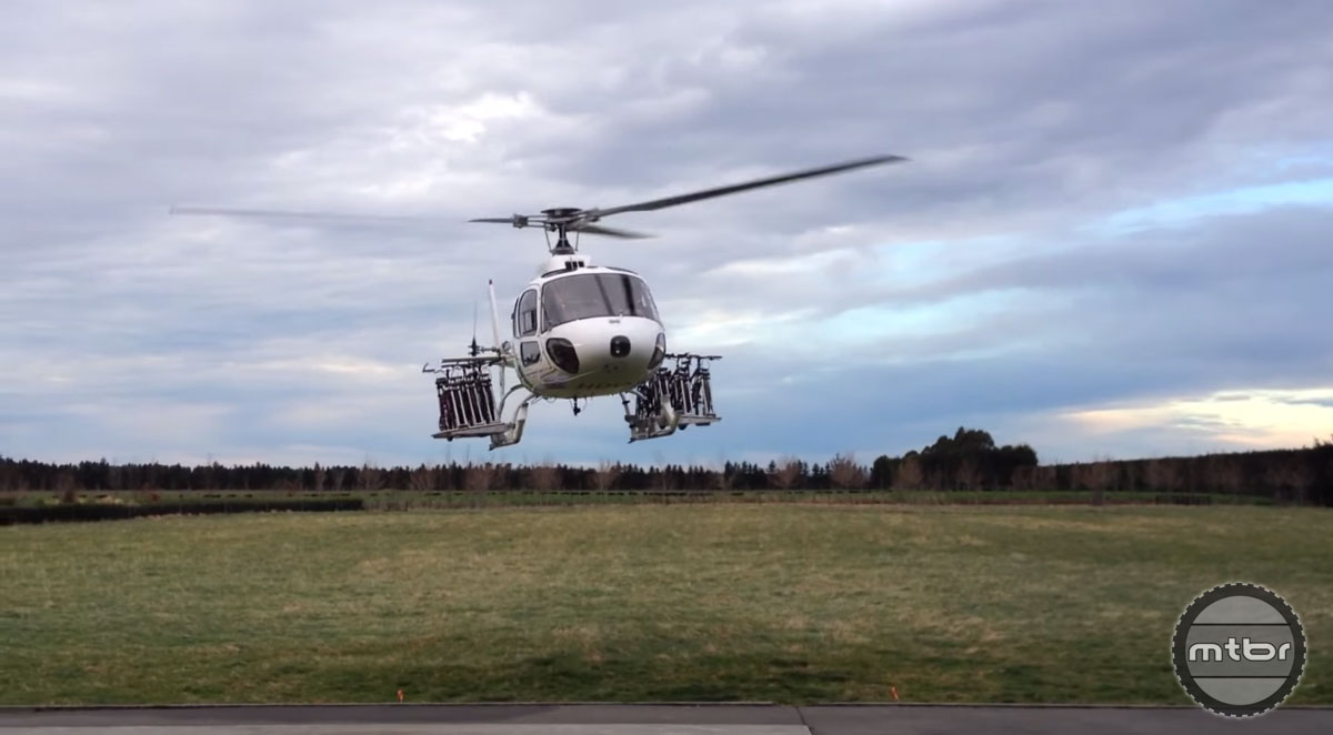 Airborne Systems Helicopter Bike Rack