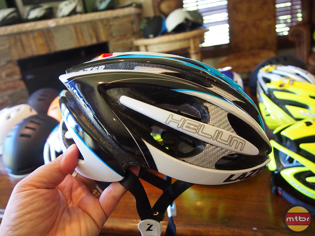 Lazer Sport Helium built-in light