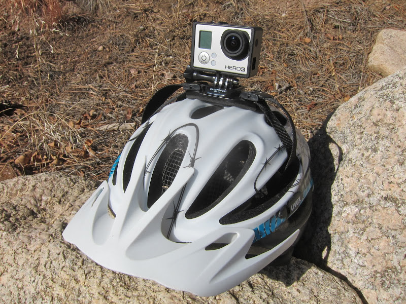 GoPro HERO3 vented helmet mount