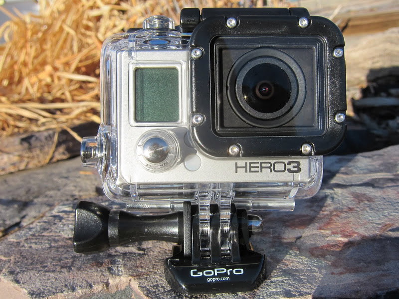 GoPro HERO3 in waterproof housing