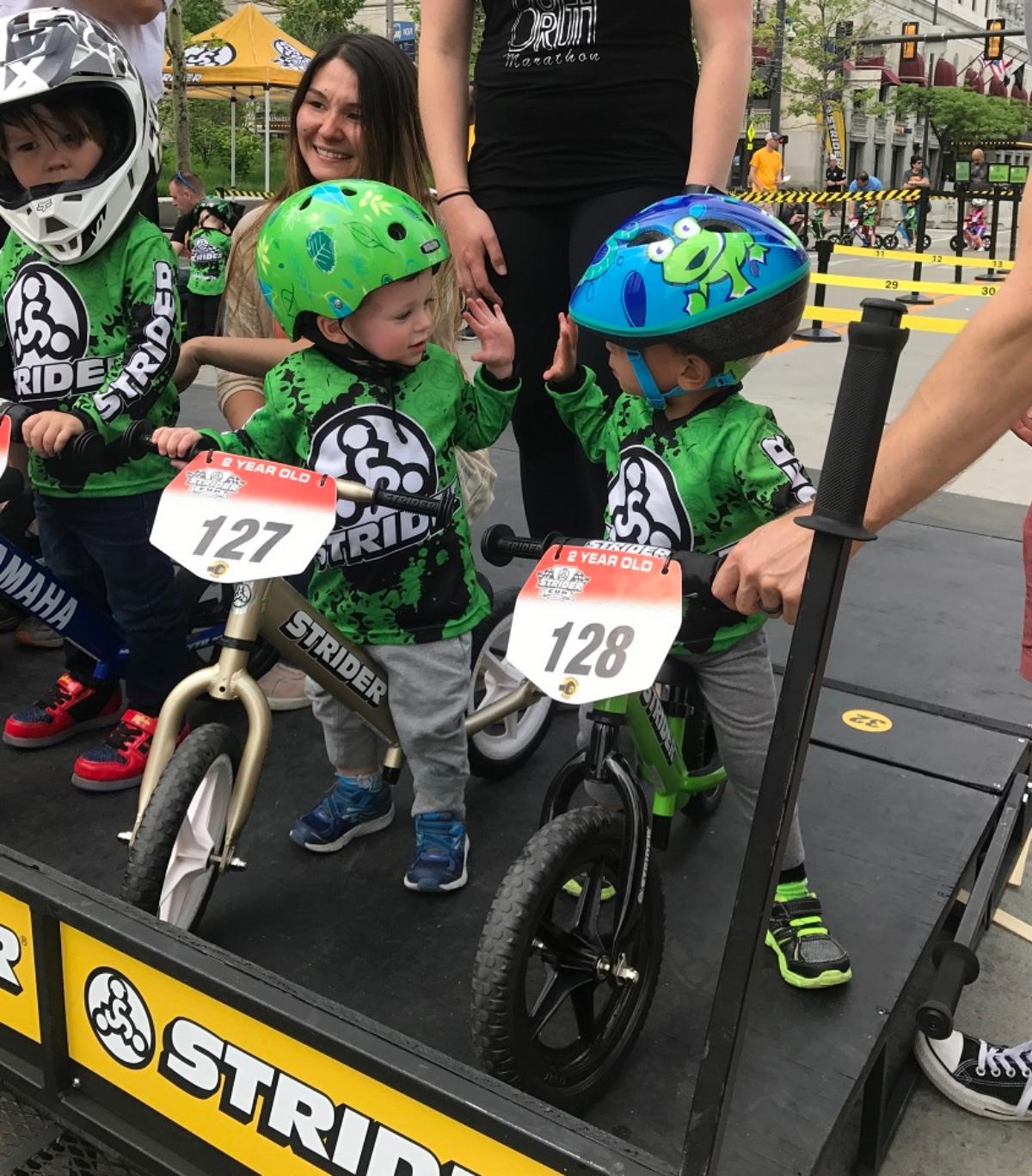 Toddler Tour de France hosting hundreds of little rippers