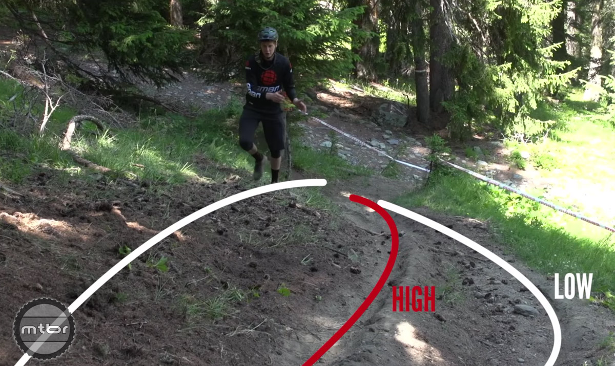 Being creative with line choice can be rewarding. Rather than taking the regular line, keep your eyes open for high lines that can help you unlock free speed.