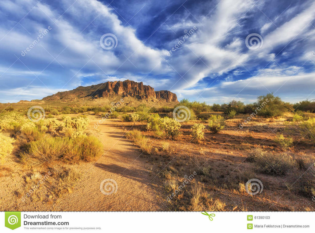 Mountain Bikers Seek to Gut Wilderness Act-hiking-trail-superstition-mountains-arizona-landscaping-view-near-phoenix-sun-going-down-just-co.jpg