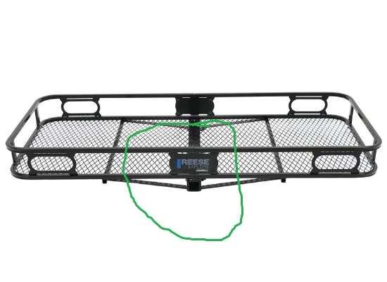 1up rack on back of cargo tray-hitch.jpg
