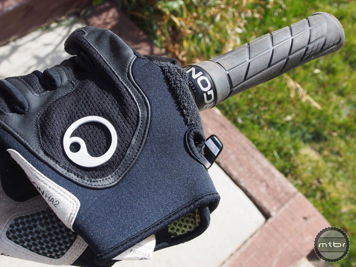 Ergon GE1 Grips  and HA2 Ergonomic Gloves