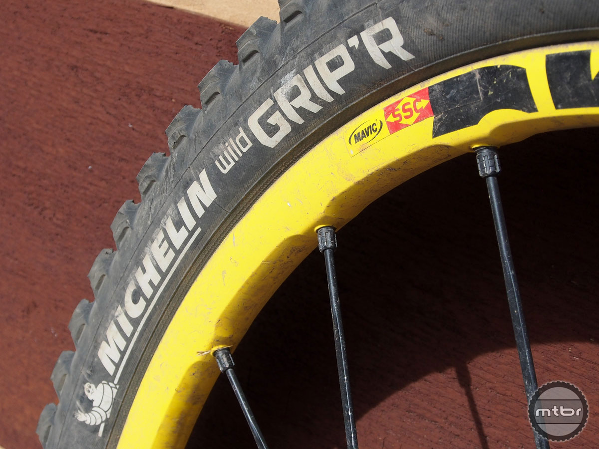 Michelin Wild Grip'R Gum-X 2.35 Tire