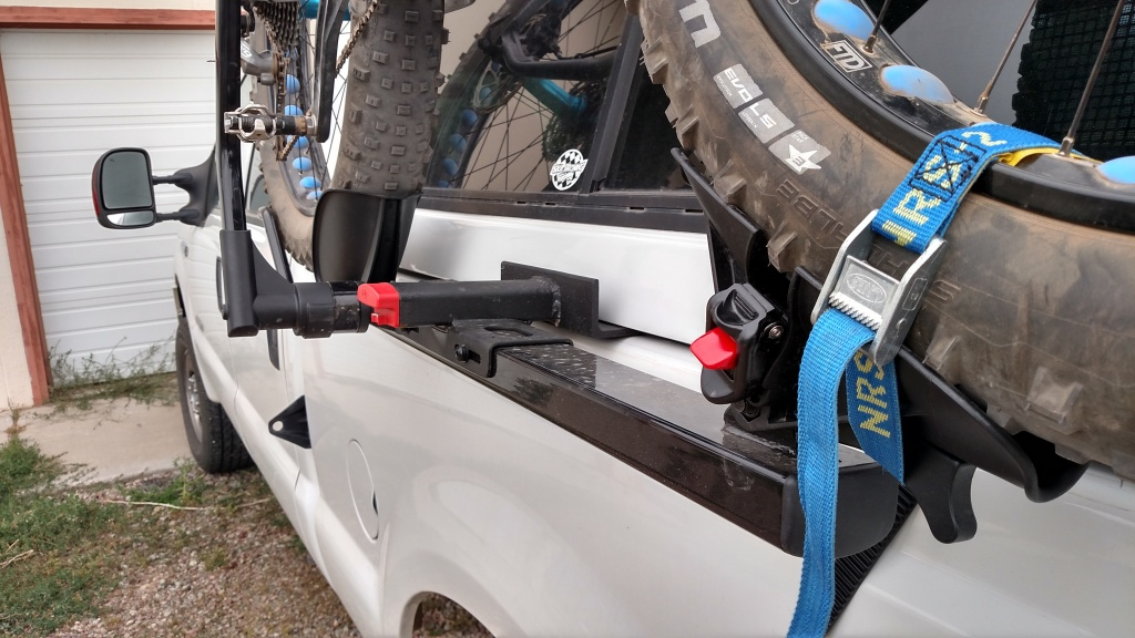 Pickup Truck Side Mount Topper Friendly Bike Rack Hack