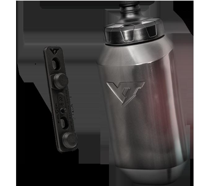 "YT's ""Thirstmaster"" Fitlock bottles"