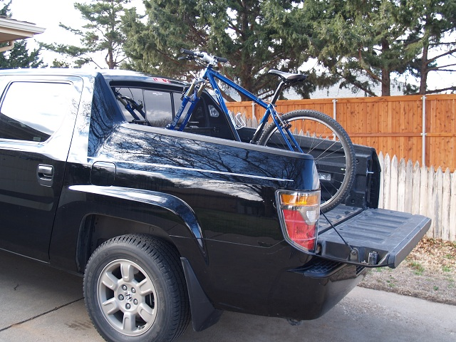 Any Bikers Living With A Honda Ridgeline? Honda1