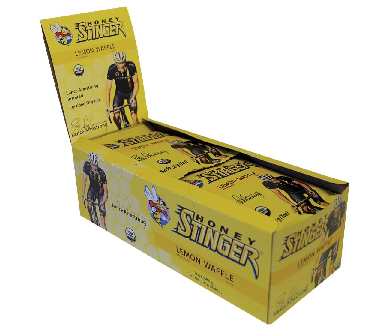 Honey Stinger Lemon Waffle Box
