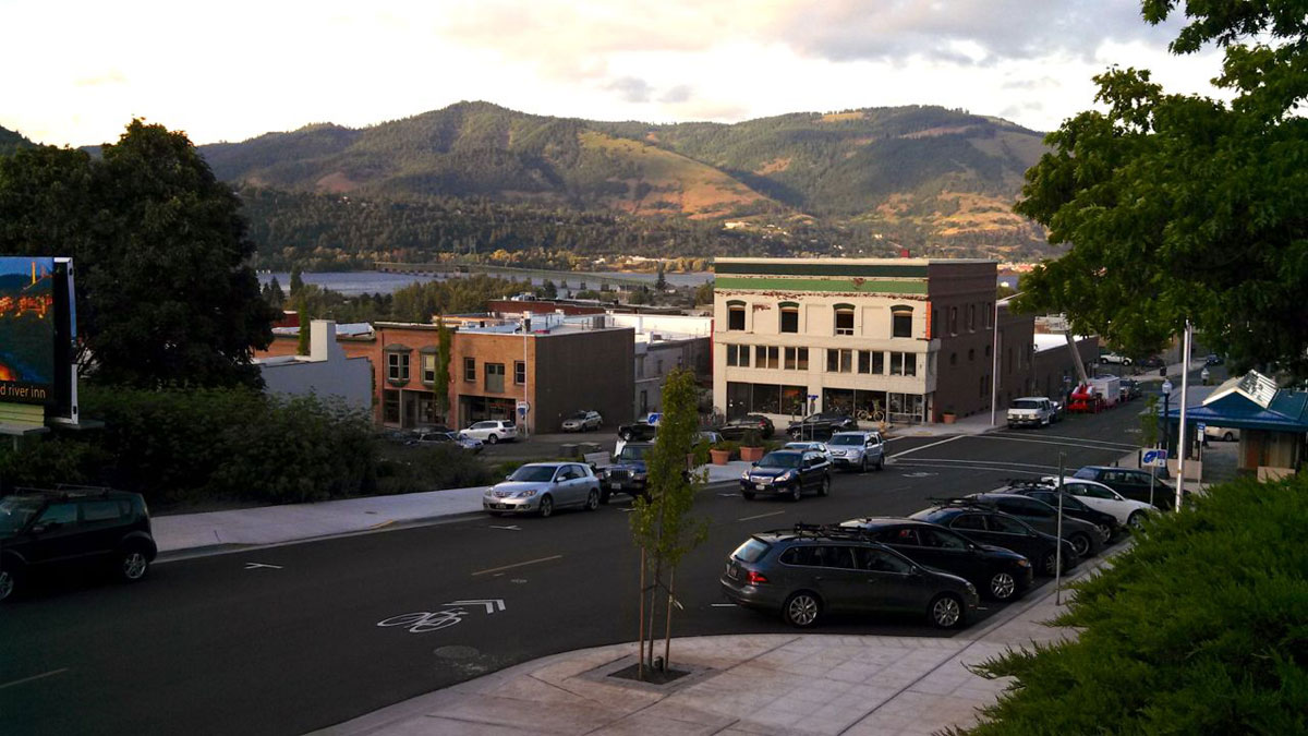 The town of Hood River is rich with culture and brimming with personality.