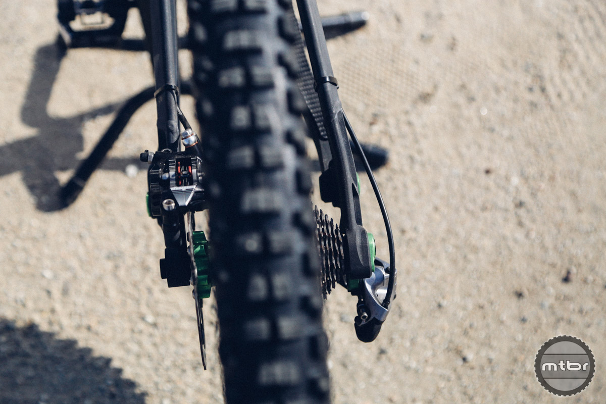 When was the last time you rode a mountain bike with 130mm rear spacing?