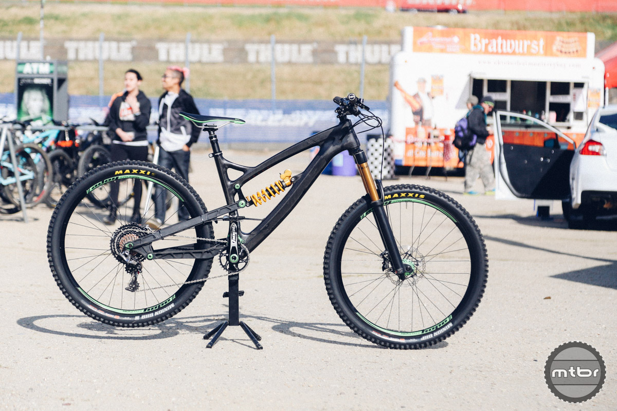 This custom one off carbon mountain bike is named after the RB211 engines built by Rolls-Royce to power airplanes.