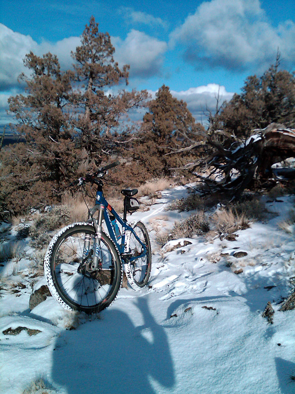 Bend trails:conditions?-horseridge122209.jpg