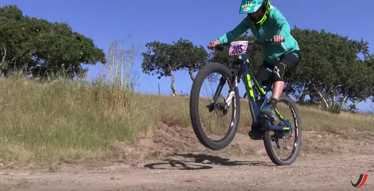 First practice lifting your front wheel off the ground.