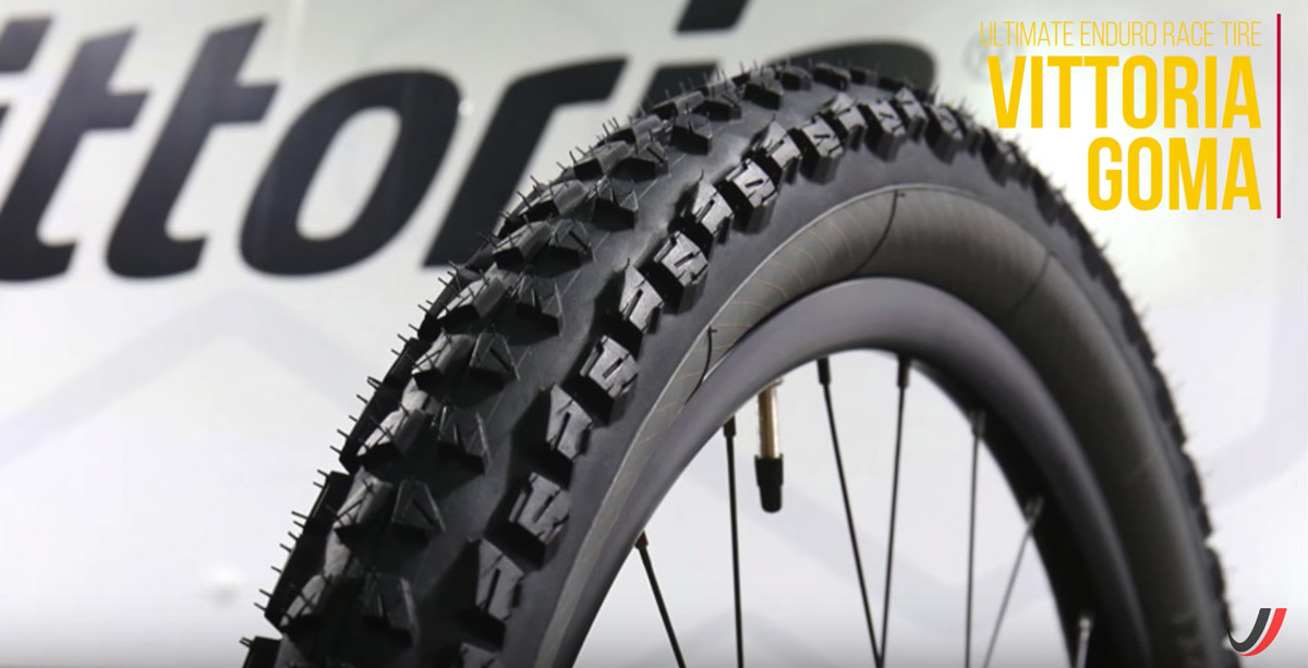 The Vittoria Goma has wide, flat knobs, making it great for hardpack conditions.