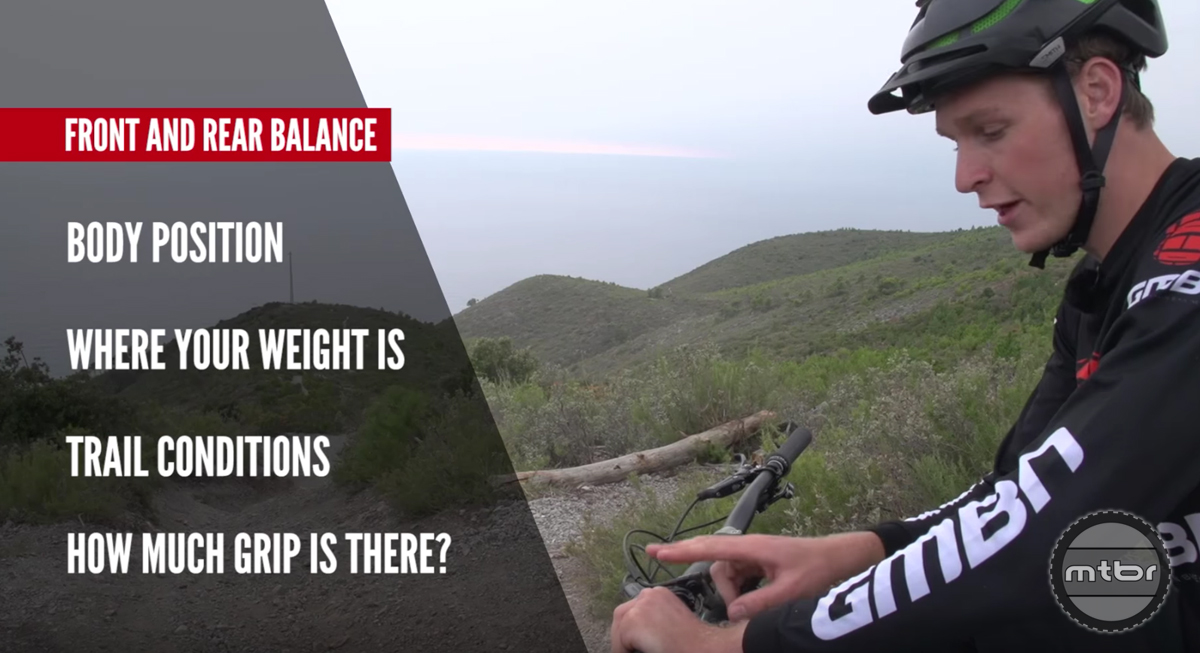How to improve your mountain bike braking technique