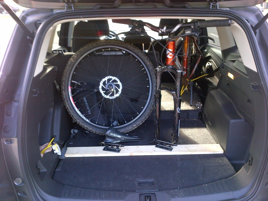 Putting Bike In Back Of Xterra Suv Mtbr Com