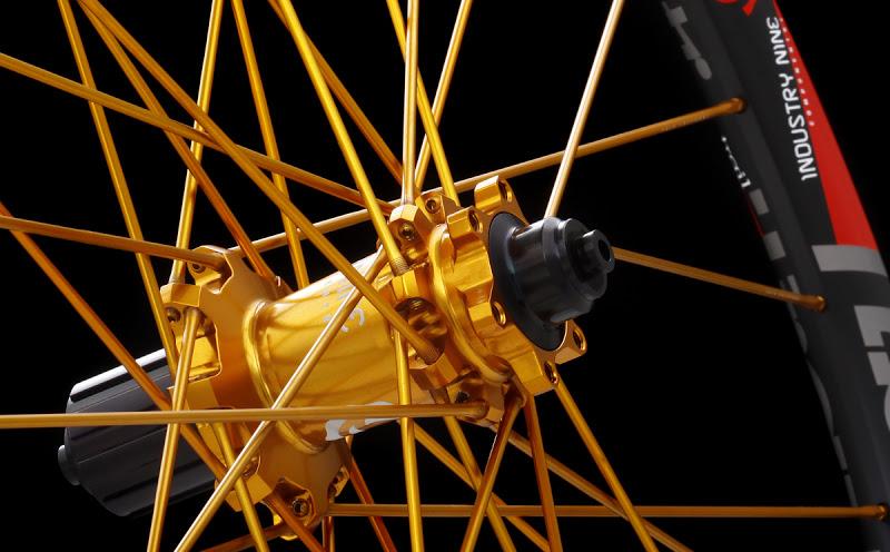 Industry Nine Torch Rear Hub Gold