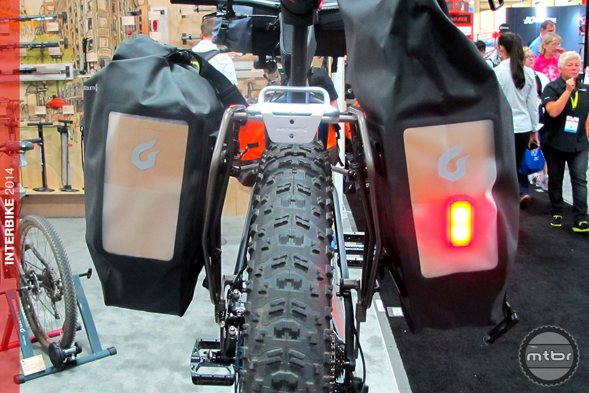 Interbike Blackburn S New Expandable Outpost Fat Bike