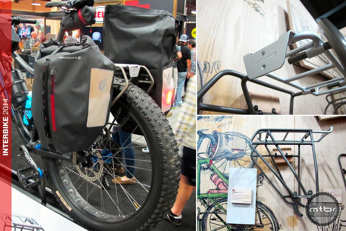 Interbike Blackburn S New Expandable Outpost Fat Bike Rack