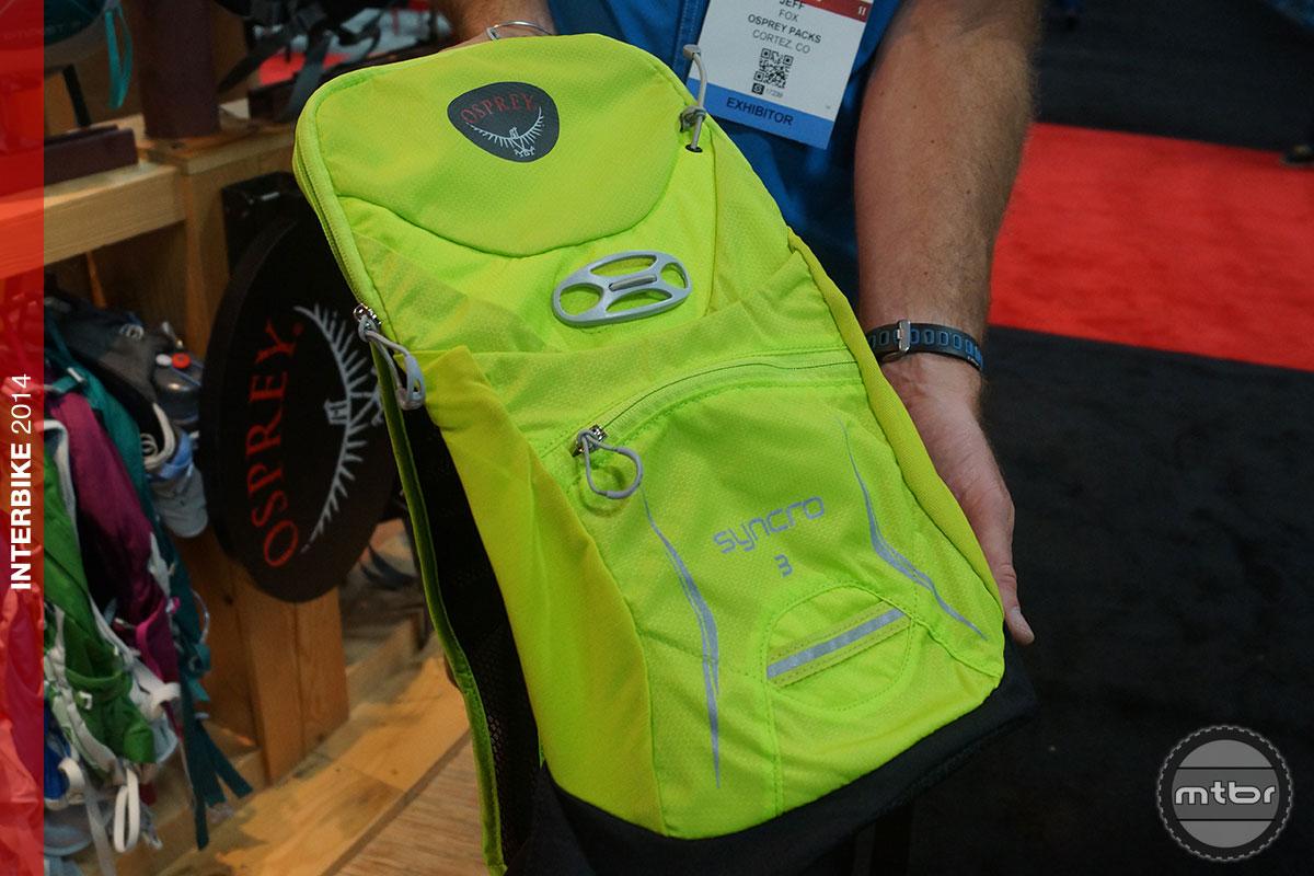 Fat Bike Reviews >> Interbike: New 2015 Osprey Syncro 3 hydration pack- Mtbr.com