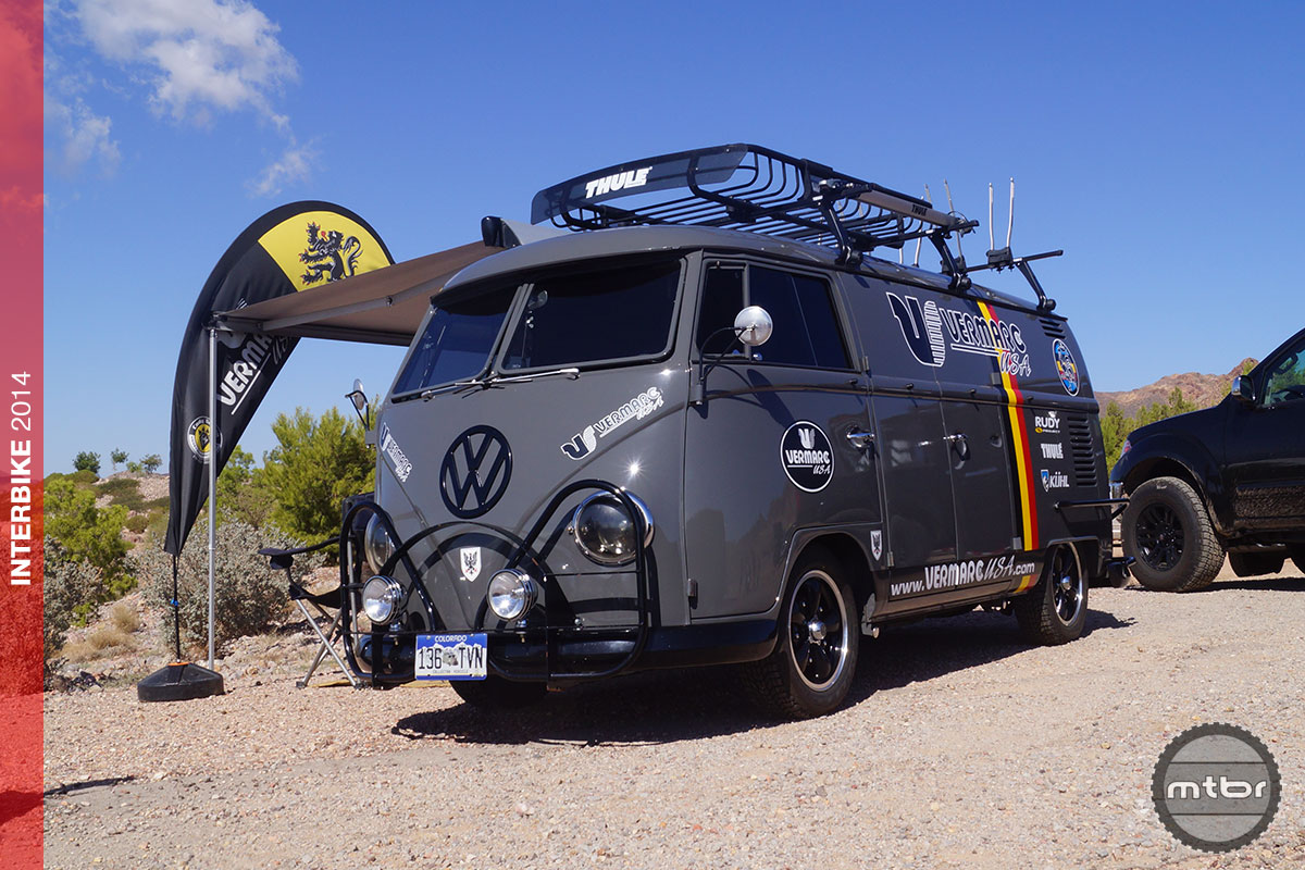 Interbike 9 super cool displays from interbike mountain for Wyoming valley motors vw service