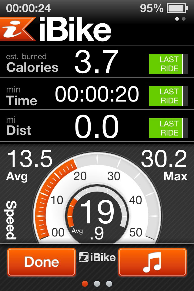 iBike Coach App Screen Shot 3
