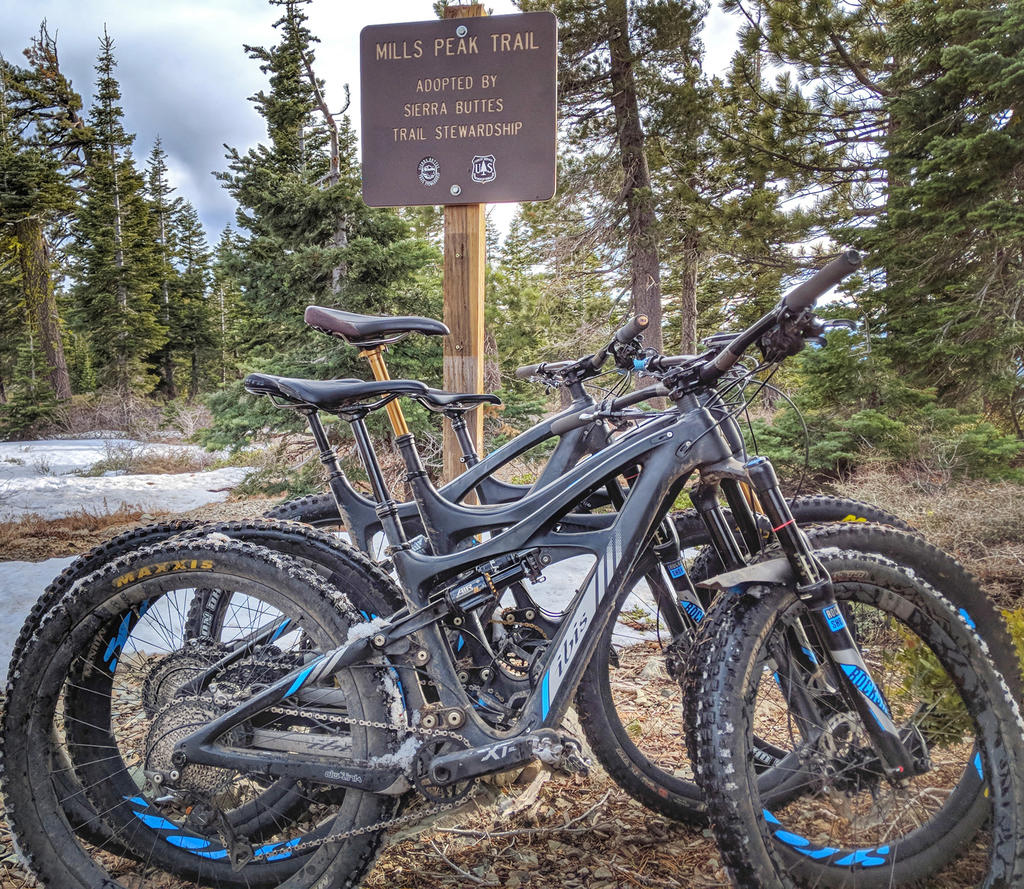 The Mills Peak Trail is complete! Check it out!-ibis-trail-sign.jpg